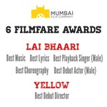 What an incredible feeling for us as Mumbai Film Company @mfc bags 6 Filmfare Awards:Lai Bhaari & Yellow. @geneliad https://t.co/5uSzZPFlnQ