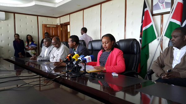 BREAKING: Anne Waiguru resigns as Devolution and Planning Cabinet secretary #WaiguruResigns https://t.co/NlViXnvrI2