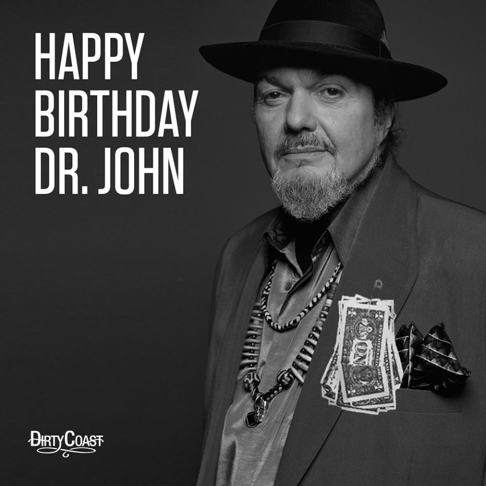 Happy Birthday to The Good Doctor! #dirtycoast #nola #birthday #drjohn #nitetripper https://t.co/NJamyJdN2j