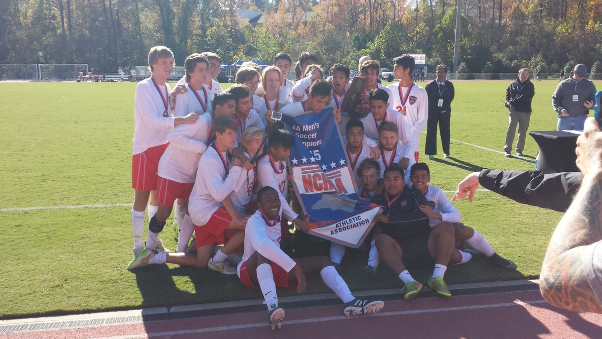 Congrats to your 4A Soccer State Champs, South Mecklenburg!! https://t.co/YXbIKz0nbZ