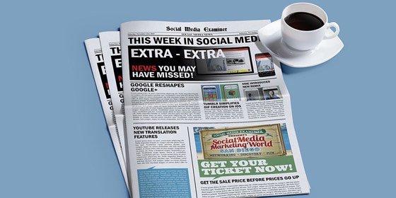 Social media news and developments making social media marketing easier. (Redesigned Google+ https://t.co/HIzjG1Ht7p https://t.co/KojDlV6Sir