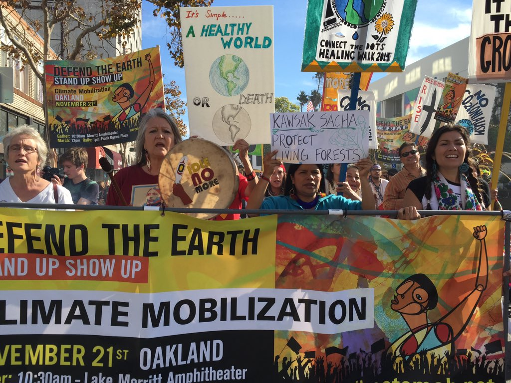 RT @AmazonWatch: Thx 4 help to get Paty Gualinga & indig allies 2 Paris #COP21 #keepitintheground https://t.co/gqZVGehpbS @JaredLeto https:…