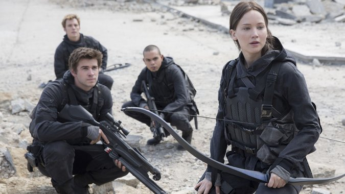 Jennifer Lawrence, Liam Hemsworth in 'The Hunger Games: Mockingjay, Part 2': Film Review