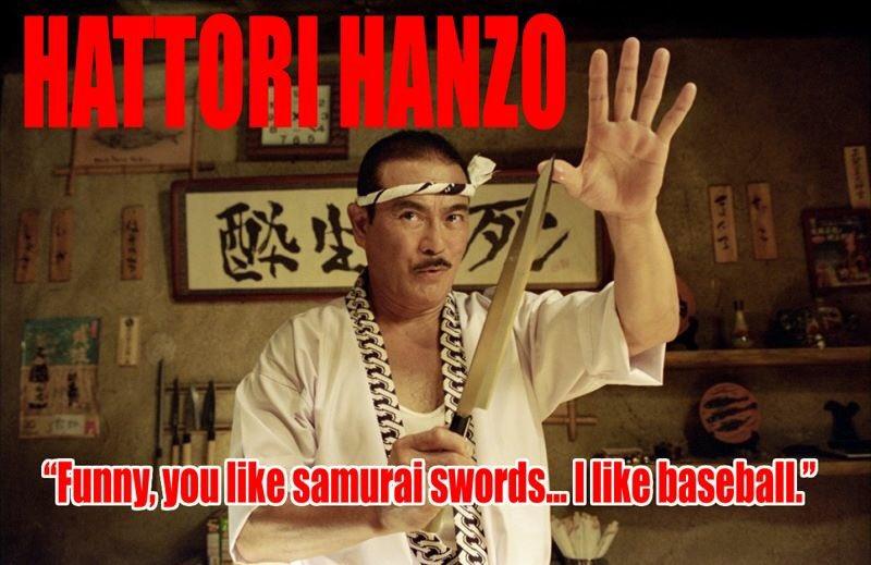 Hattori Hanzo. https://t.co/7IWAWRdC2e