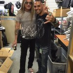 RT @josemangin: Hooking up one of my rock idols @sebastianbach w new @Affliction @Easyriders1 gear @AZNovemberFest @eaglerider https://t.co…