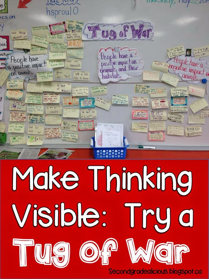 Making Thinking Visible with a Tug of War https://t.co/STYOxxt1cA