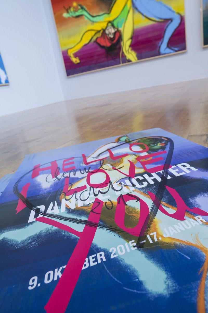 #HelloILoveYou! Retweete und gewinne ein handsigniertes Plakat des Künstlers DANIEL RICHTER! #Gewinnspiel https://t.co/Ej8q09CB7T
