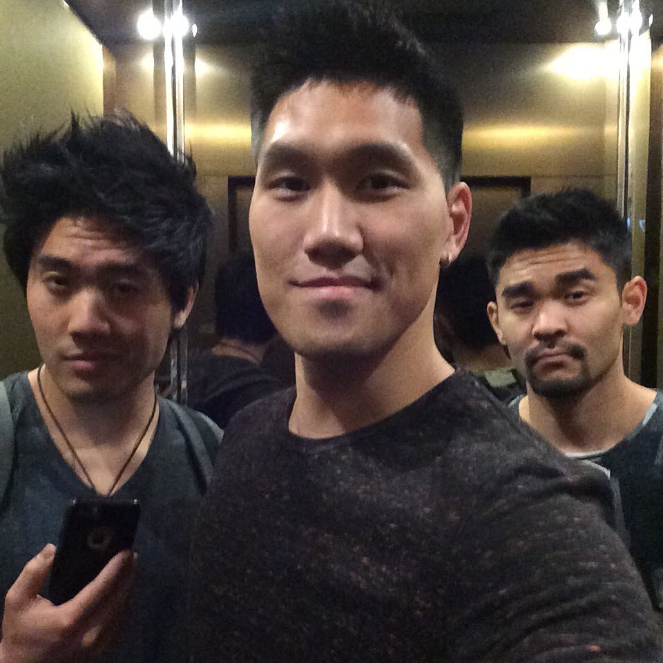 On our way to #ClickPlayFest @clickplayfest @TheRealRyanHiga @FujiYoSean https://t.co/cggRGf1OXx