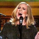 Adele just perfomed