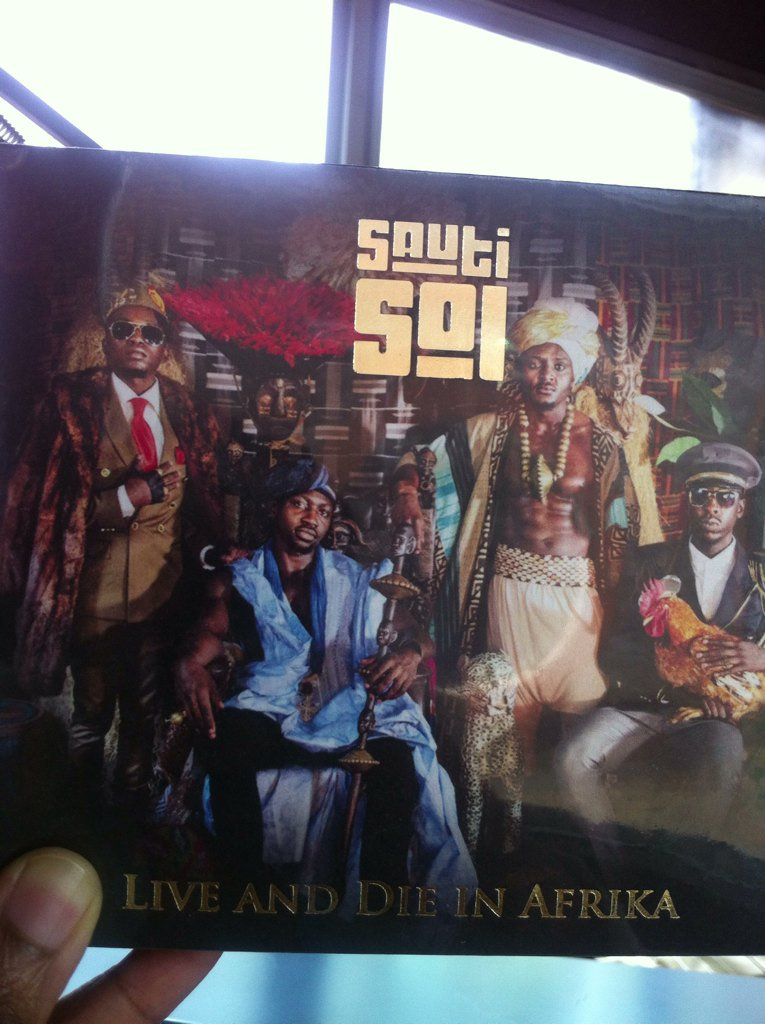 Congratulations @SautiSol on the release of your album #LiveandDieinAfrika - get it for free today on their website https://t.co/rQOpGbapCf