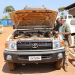 How to make a #popemobile in Central African Republic? See special vehicle prepared by #MINUSCA @UN_CAR #PopeInCar https://t.co/CygLyovuzR