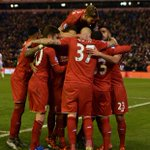 PHOTO: #LFC celebrate James Milners goal to give them the lead at Anfield https://t.co/QSe8V32sU3