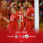FT: Liverpool 1-0 Swansea https://t.co/T6Czg8mUQg #LFC #LFCIndonesia https://t.co/WtXr9alkBf