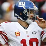 Eli Manning: 1 completion, 2 interceptions Giants: 9 REC Yds Redskins: 13 INT Yds Rough start ???? #NYGvsWAS https://t.co/ujZF50ACHB