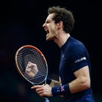 2 down 1 to go! @andy_murray takes a huge step towards the @DavisCup as he takes the second 7-5! #BackTheBrits https://t.co/GdRcoxUNyw