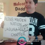 A|M Laguna Chapter @maiden16_laguna Get-Together with Daddy Bae @R_FAULKERSON Thank you po and ALDUB you po! https://t.co/k42iNKE5Hl