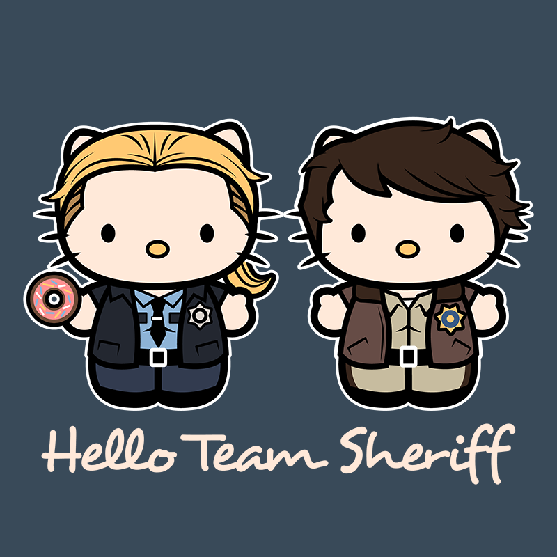 It was only natural that this winning team would become a shirt! #SPNFamiIly @TeePublic @ImaginativeInkU #SPN https://t.co/appba7ko2j