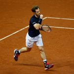 Pressure from #Goffin but @andy_murray holds and were one game away! #BackTheBrits #DavisCupFinal https://t.co/Ao4NxJOMbF