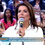 """""""Eu quero agradecer à Eliana, ao próprio Silvio Santos..."""" #MaraNoDomingoShow https://t.co/nG7ApQvA52"""
