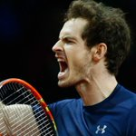 ITS BEDLAM IN BELGIUM. Amazing @Andy_Murray beats Goffin & Britain win #DavisCup for 1st time in 79 years. YESSS! https://t.co/OeJGnaaccc