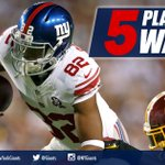 Which #Giants will step up today? Heres 5 playmakers to watch! GO: https://t.co/TG93oI0BOp https://t.co/LTfXfNWGkC