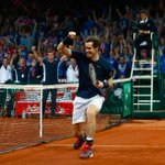 Sensational by @andy_murray to defeat #Goffin 6-3, 7-5, 6-3 for the @DavisCup title https://t.co/KCrVzv0V1q https://t.co/zunx92ppgj
