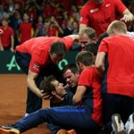 """""""I cant believe we did it"""" - Andy Murray on #DavisCupFinal win https://t.co/Ax6c5vBbUy https://t.co/f3O93Nv5xQ"""