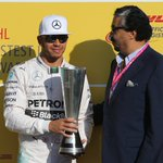 Hamilton gets his 8th fastest lap of 2015. He collected his DHL Fastest Lap Award earlier >> https://t.co/GaxJWKL6T5 https://t.co/y8fqzAwm0g