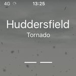 Melanie Caruso got this interesting weather report for Huddersfield earlier! Well, it IS windy... #weather #tornado https://t.co/LOwDkDVQc1