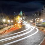 Light trails on The Mound #edinburgh https://t.co/EE9t1QWjA8