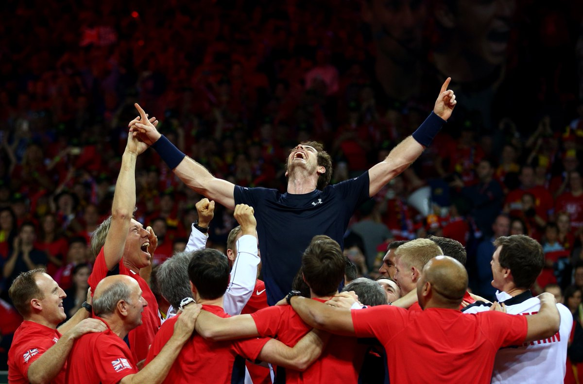 Like if you loved that! Retweet if you really loved that! #DavisCup Champions #BackTheBrits https://t.co/vaT2kRlnHG