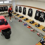 Heres a look in the @Arsenal changing room ahead of #NCFCvAFC https://t.co/gm3bIArtU2