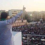 Amazing crowd in Lyari today. https://t.co/FaJC8IqxSn