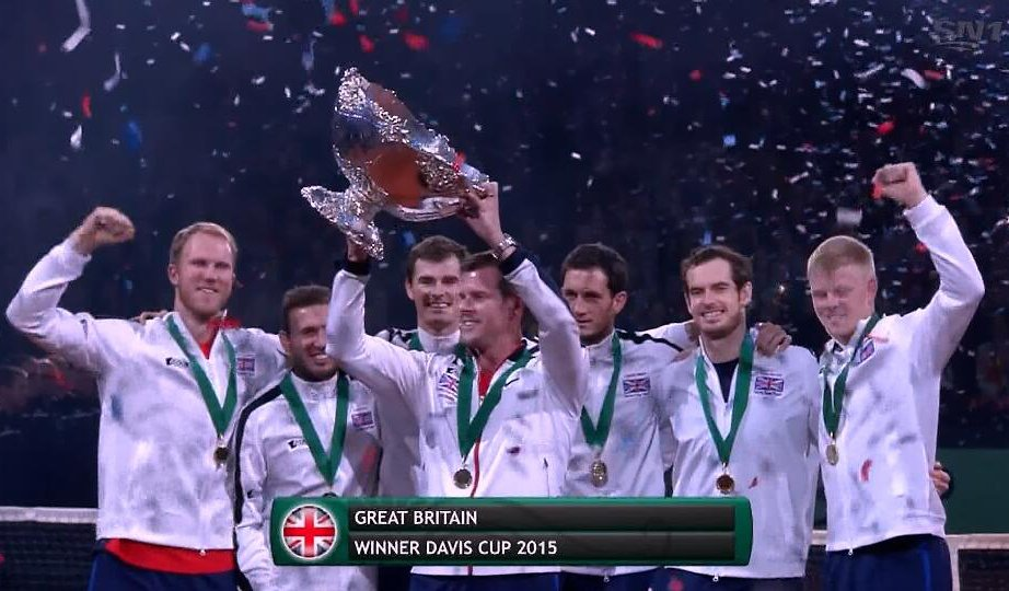 Great Britain, the 2015 #DavisCup champions! It's been a long 79 years wait, so #congrats Andy Murray & co. https://t.co/PjKC0xAHD1