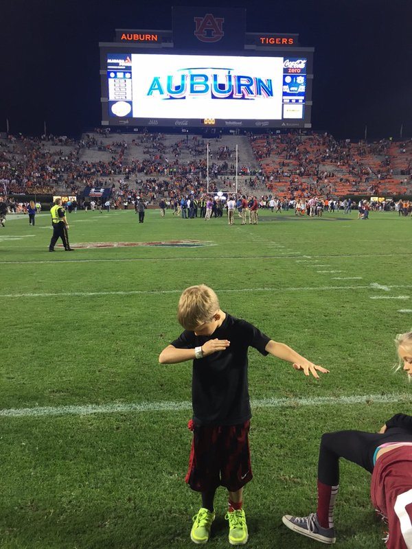 Coaches dabbing is old news. now it's all about their kids dabbing ...