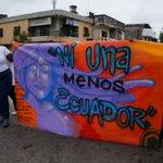 Promovemos el respeto y la igualdad de oportunidades para todos/as ¡No más violencia de género! #NiUnaMenosEcuador https://t.co/2wbOlEchRf