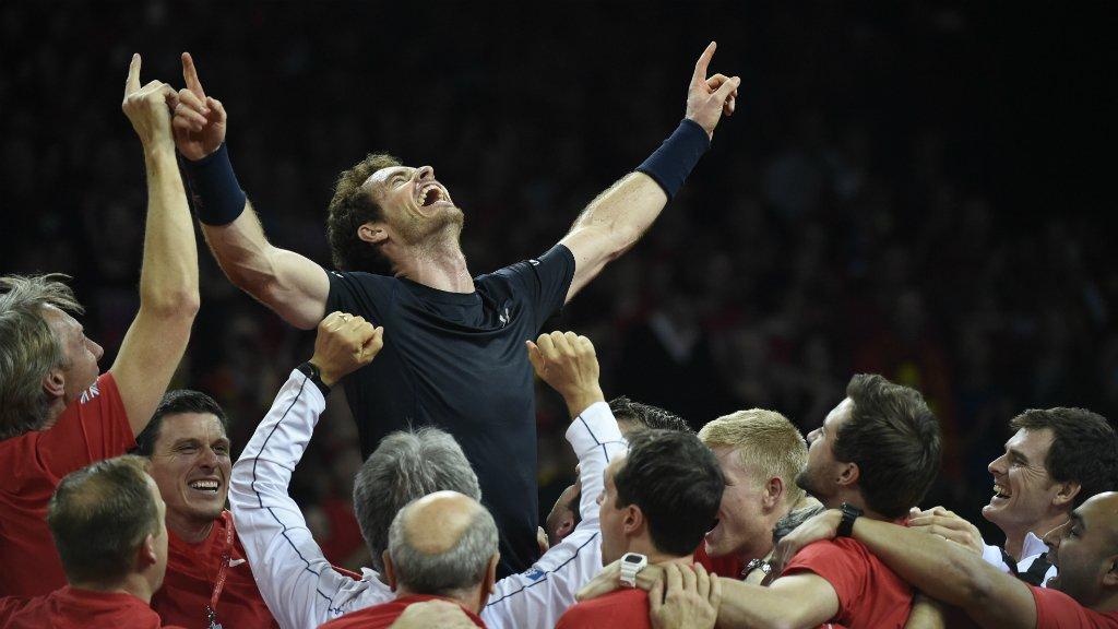 AndyMurray leads Great Britain to first Davis Cup title in 79