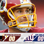Were scoreless at the end of 1 in this huge NFC East matchup. READ MORE | https://t.co/AEIbNvmeDU #NYGvsWAS https://t.co/33aG88XO32