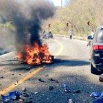 Muy fuerte accidente Carr Fed 200 entre Huatulco y Salina, alt Huamelula, 1 muerto y 1 herido del #MotoFestHuatulco https://t.co/UVKKM68e1k