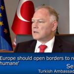 EU needs to show leadership over the #RefugeeCrisis, says #Turkey's EU Ambassador | VIDEO: https://t.co/YgEQk7lFuR https://t.co/ApYdNhcOpe