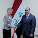 UN Deputy Emergency Relief Coordinator Kyung-wha Kang met w/ Iraqi government officials today in #Baghdad @OCHAIraq https://t.co/AfZyDfpjim