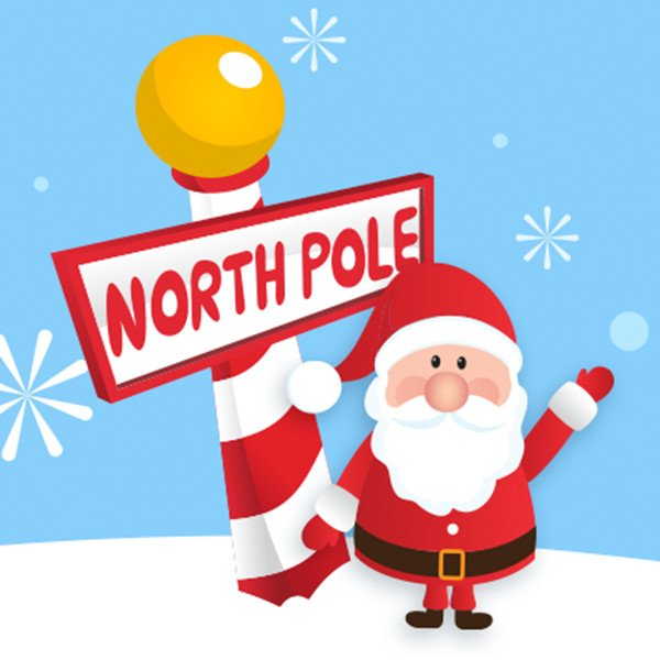 Is it christmas yet? get in the mood with north pole radio on ...