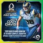 Help send your favorite #Rams to the Pro Bowl! ???????? VOTE: https://t.co/S7hO4vOh4B https://t.co/8ncz9z8pzs