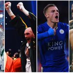 It has not been a bad weekend for British sport... Take a bow @BritishTennis @Tyson_Fury @vardy7 @jamesdegale1 https://t.co/qol4Q12VLq