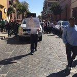 #NotiAhora Marcha de Sección 22 ingresa a la calle Morelos #Precaucion https://t.co/58jF17M3jU