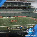 The @budlight pregame view from the booth! #STLvsCIN https://t.co/GIUg3XEUvD