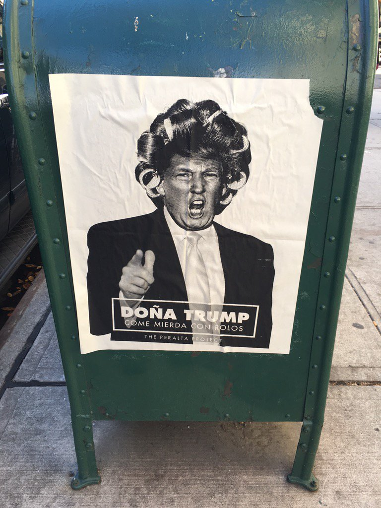Not endorsing this but did want to share what I just saw on a street in Harlem as I walked back from the gym. https://t.co/A4l3KRj0ip