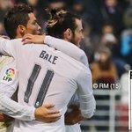 FINAL: Éibar 0-2 Real Madrid (@GarethBale11 43', @Cristiano 82' (p) ). #RMLiga #HalaMadrid https://t.co/AxlGMHsNNb