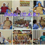 #MSG2EntersIn434 43 unit blood donated by fans in Latifa Hospital, Dubai (UAE) Remarkable work. Blessings to all! https://t.co/KyBXzSqs2y