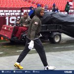 Odell brought some special cleats with him to Washington! #CharlieBrown #MetLife #NYGvsWAS https://t.co/f1wNGPd6v0